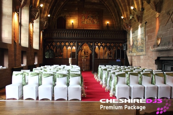 Wedding Ceremony DJ Peckforton